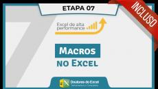(07) Macros no Excel