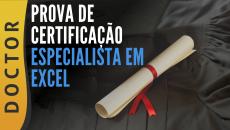 PROVA DE CERTIFICAÇÃO - ESPECIALISTA EM EXCEL