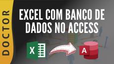 Excel com Banco de Dados Access