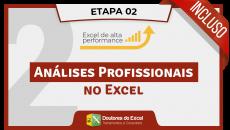 (02) Módulo Avançado (Análises Profissionais no Excel)