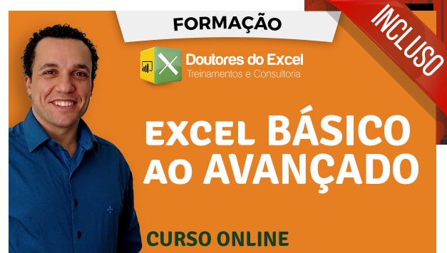 Curso de Excel Básico ao Avançado - Doutores do Excel 87c333de2b